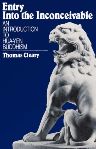 Entry into the Inconceivable An Introduction to Hua-yen Buddhism  1995 (Reprint) edition cover