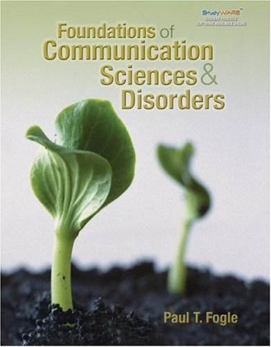 Foundations of Communication Sciences and Disorders   2008 edition cover