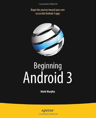 Beginning Android 3   2011 edition cover