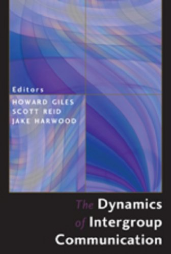 Dynamics of Intergroup Communication   2010 edition cover