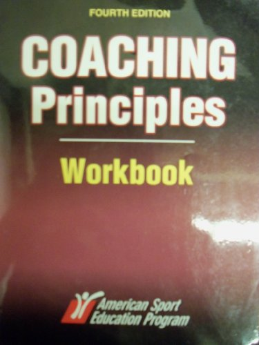 COACHING PRINCIPLES WORKBOOK   N/A edition cover