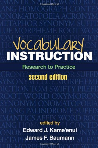 Vocabulary Instruction Research to Practice 2nd 2012 (Revised) edition cover