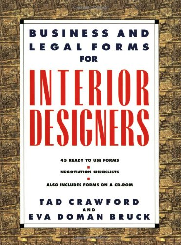 Business and Legal Forms for Interior Designers   2001 9781581150971 Front Cover