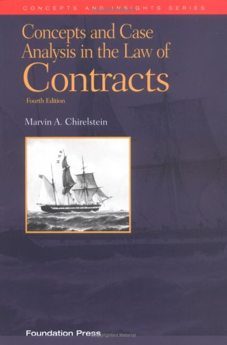 Law of Contracts  4th 2001 edition cover