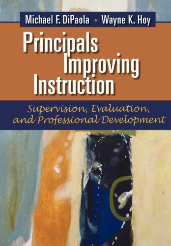 Principals Improving Instruction Supervision, Evaluation, and Professional Development  N/A edition cover