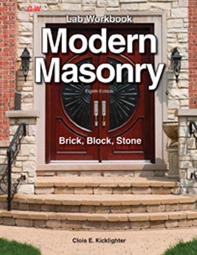 Modern Masonry Workbook  8th edition cover