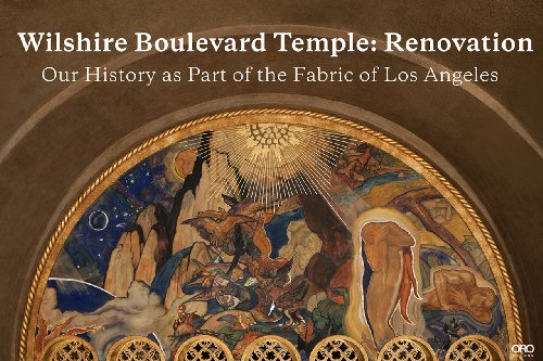 Wilshire Boulevard Temple Our History As Part of the Fabric of Los Angeles  2013 9781935935971 Front Cover