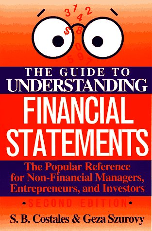 Guide to Understanding Financial Statements  2nd 1993 (Revised) edition cover