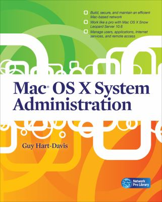 Mac OS X System Administration   2010 9780071668972 Front Cover