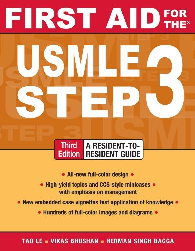 USMLE, Step 3  3rd 2011 edition cover