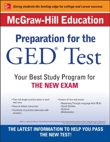 Mcgraw-hill Education Preparation for the Ged Test:   2014 edition cover