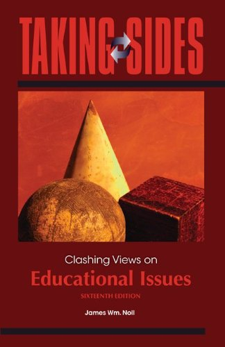 Clashing Views on Educational Issues  16th 2011 edition cover