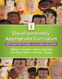 Developmentally Appropriate Curriculum Best Practices in Early Childhood Education 6th 2015 edition cover
