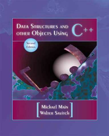 Data Structures and Other Objects Using C++  2nd 2001 edition cover