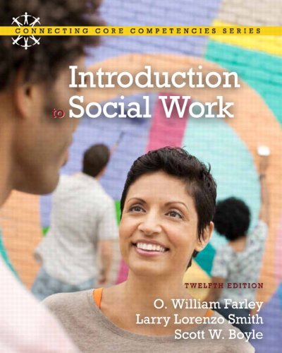 Introduction to Social Work  12th 2012 (Revised) edition cover
