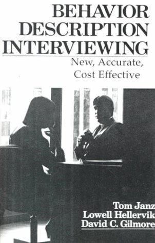Behavior Description Interviewing   1986 9780205085972 Front Cover