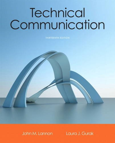 Technical Communication 13th 2014 9780321899972 Front Cover