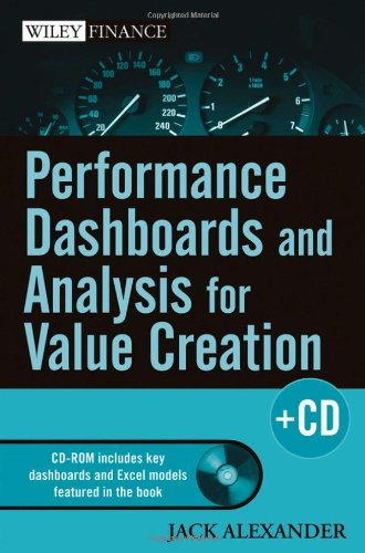 Performance Dashboards and Analysis for Value Creation   2007 edition cover