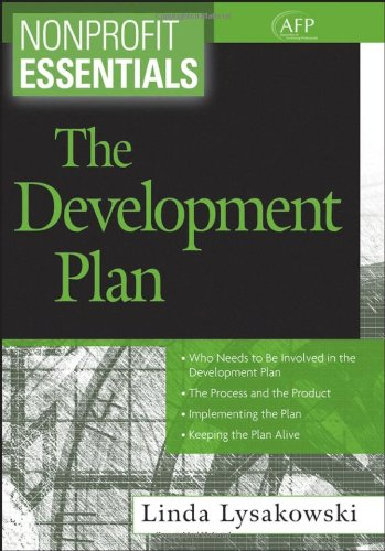 Nonprofit Essentials The Development Plan  2007 edition cover