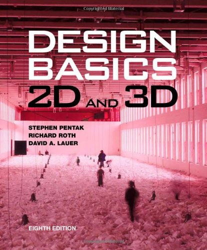 Design Basics 2D and 3D 8th 2013 edition cover