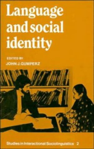 Language and Social Identity  2nd 1982 edition cover