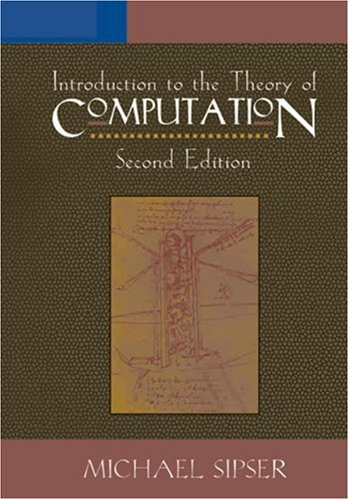 Introduction to the Theory of Computation  2nd 2006 9780534950972 Front Cover