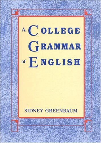 College Grammar of English   1989 edition cover