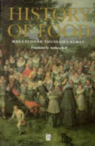 History of Food   1994 9780631194972 Front Cover