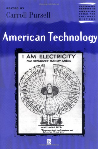 American Technology   2001 edition cover