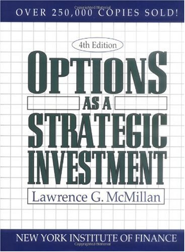 Options as a Strategic Investment  2nd 2001 edition cover