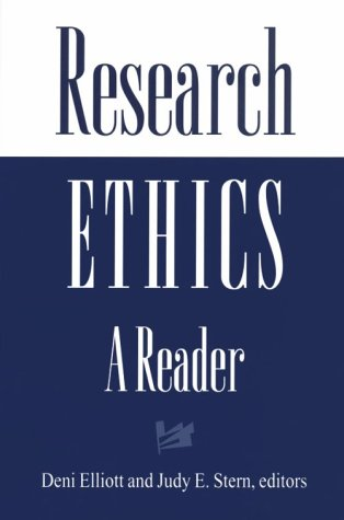 Research Ethics A Reader  1997 edition cover