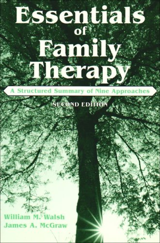 Essentials of Family Therapy A Structured Summary of Nine Approaches 2nd 2002 edition cover