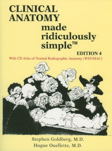 Clinical Anatomy Made Ridiculously Simple 4th 2010 edition cover