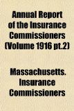 Annual Report of the Insurance Commissioners N/A edition cover
