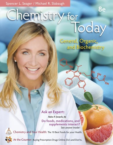 Chemistry for Today General Organic and Biochemistry 8th 2014 edition cover
