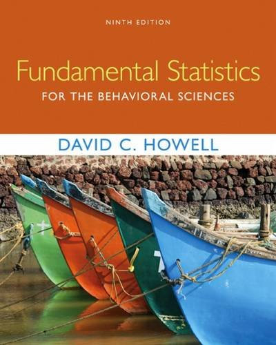 Fundamental Statistics for the Behavioral Sciences:   2016 9781305652972 Front Cover