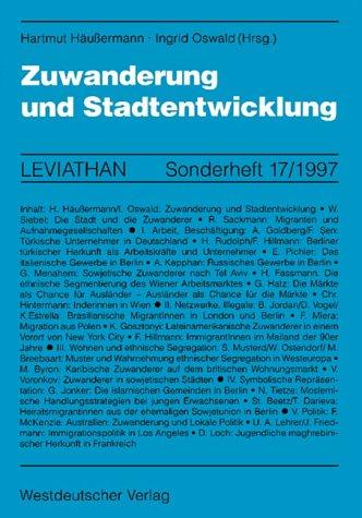 Zuwanderung Und Stadtentwicklung:   1997 edition cover