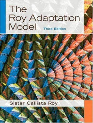 Roy Adaptation Model  3rd 2009 edition cover