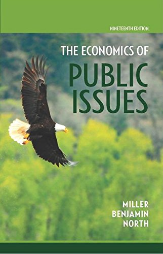 Economics of Public Issues:   2015 edition cover