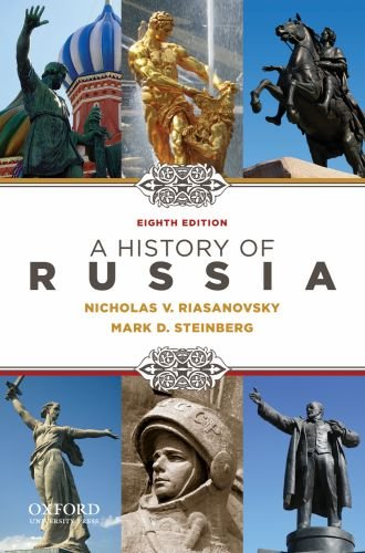 History of Russia  8th 2016 edition cover