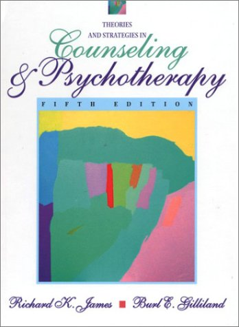 Theories and Strategies in Counseling and Psychotherapy  5th 2003 (Revised) edition cover