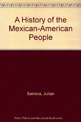 History of the Mexican-American People  2nd 1993 (Revised) edition cover
