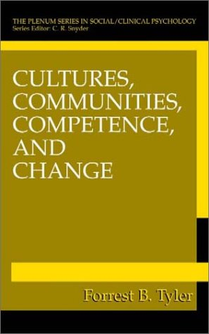 Cultures, Communities, Competence, and Change   2001 9780306464973 Front Cover