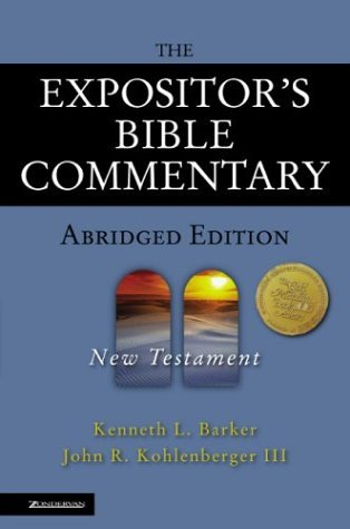 Expositor's Bible Commentary New Testament  2004 (Abridged) edition cover