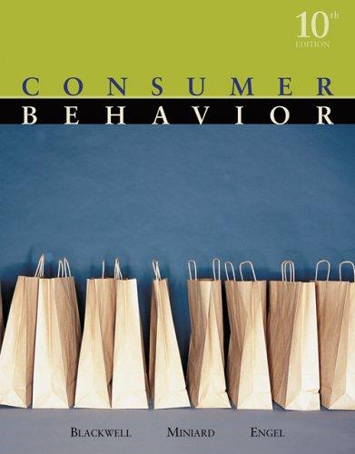 Consumer Behavior  10th 2006 edition cover