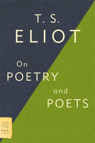 On Poetry and Poets   2009 edition cover