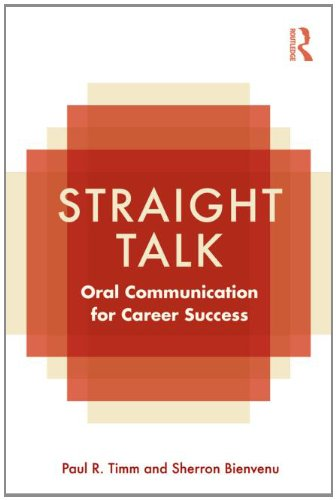 Straight Talk Oral Communication for Career Success  2011 9780415801973 Front Cover