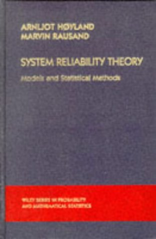 System Reliability Theory Models and Statistical Methods  1994 9780471593973 Front Cover
