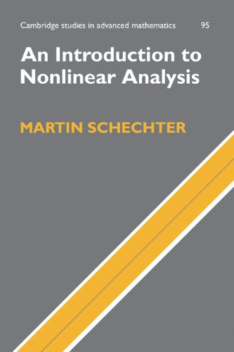 Introduction to Nonlinear Analysis   2004 9780521843973 Front Cover
