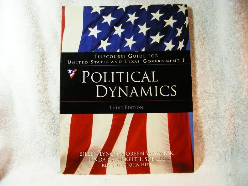 Telecourse Guide Political Dynamics US Government 10th 2005 9780534630973 Front Cover